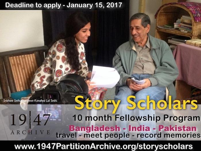 [Story Scholar recording a story]